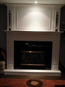 renovations, living, space, room, fireplace, improvement