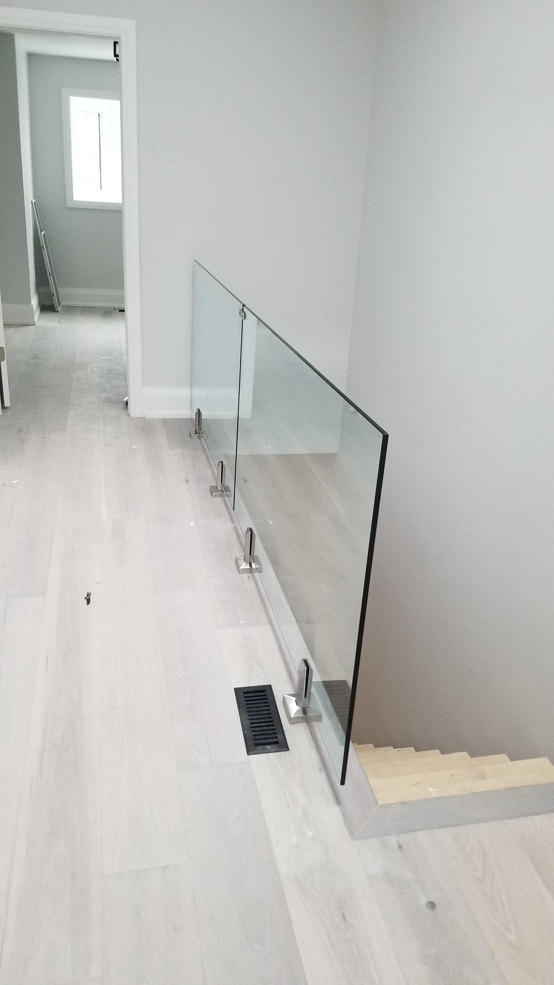 New Flooring & Glass Railing