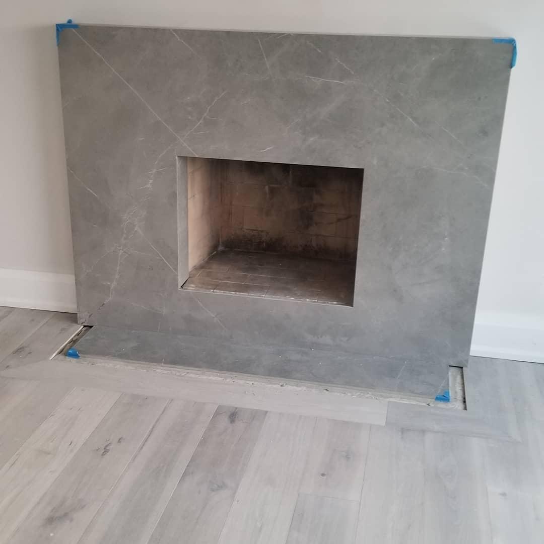 New Fireplace Finishing
